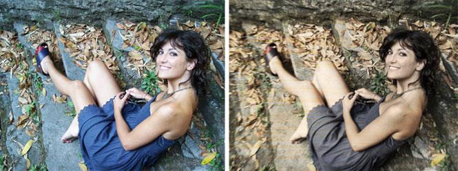 invecchiare una fotografia con photoshop