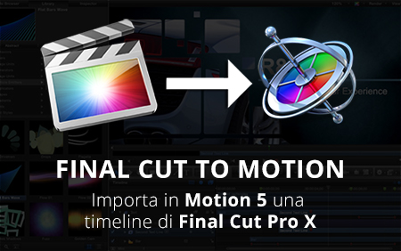 Final cut to motion banner